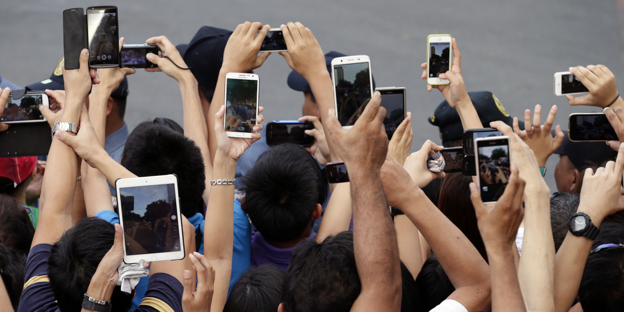 Smartphone per scattare fotografie