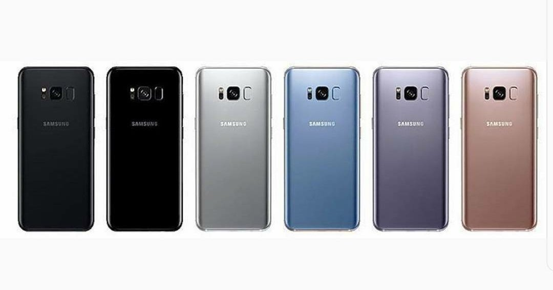 Galaxy S8 colori varianti