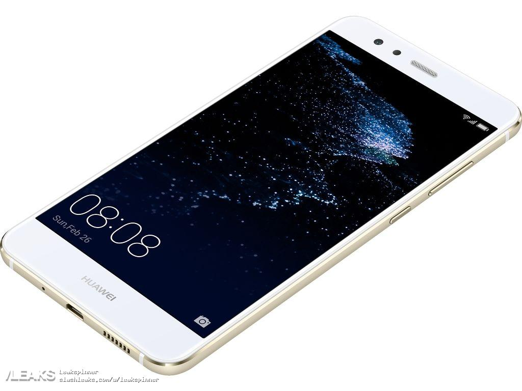 Huawei P10 Lite fronte
