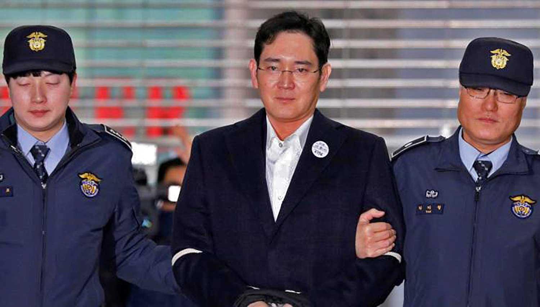 Vice Presidente di Samsung Lee arrestato