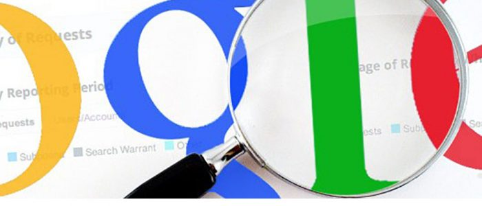 report trasparenza Google