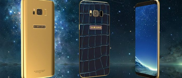 Galaxy S8 d'oro by Legend