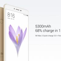 Xiaomi Mi Max 2 battery