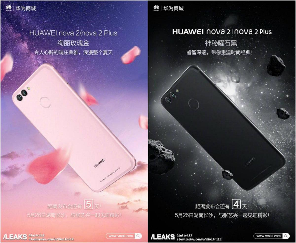 Huawei Nova 2 e Nova 2 Plus