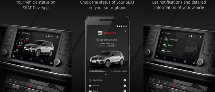 SEAT ANdroid Auto app driveapp