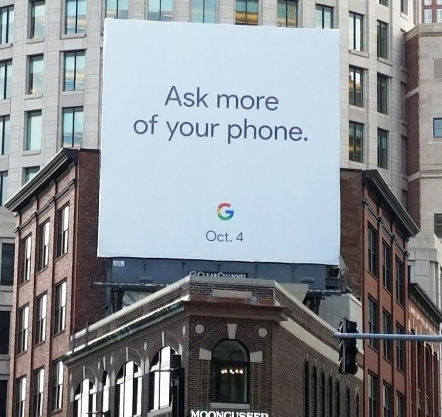 Evento Google 4 ottobre