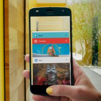 Smartphone Motorola Moto con Android 8.0 Oreo