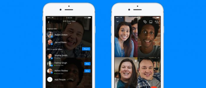 Facebook Portal video chat