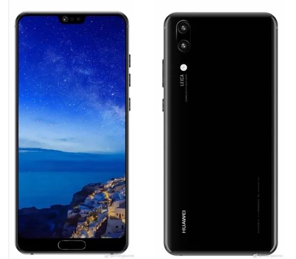 Huawei p20 foto leak