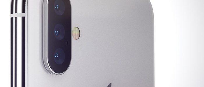 iPhone X fotocamera 3 lenti