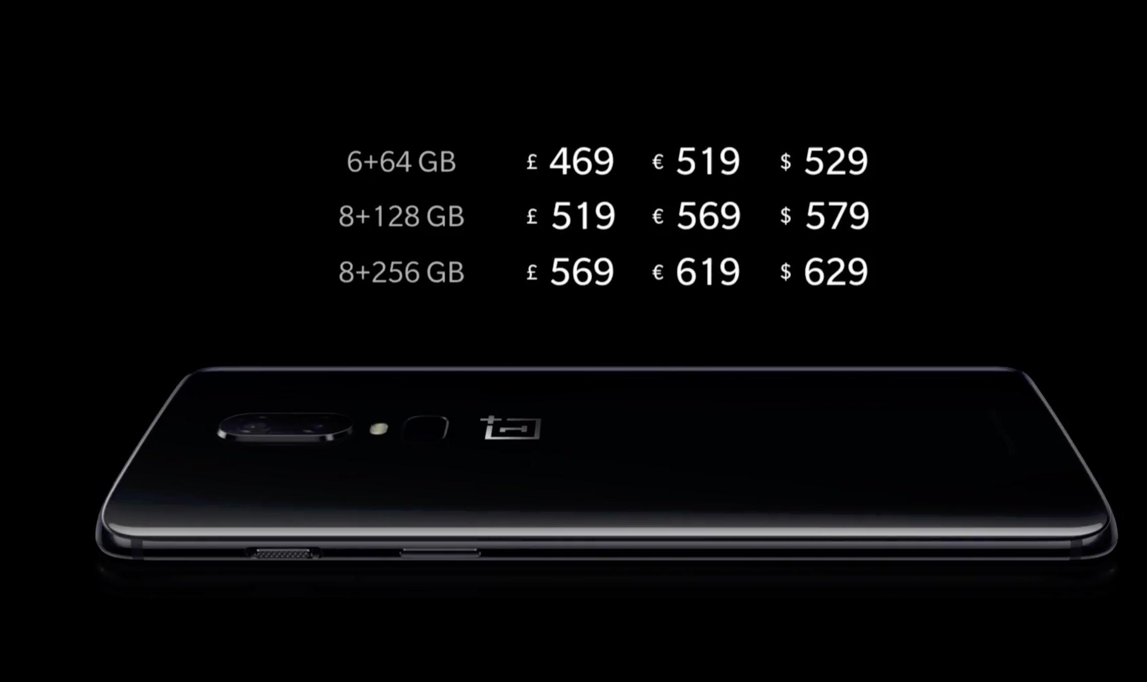 OnePlus 6 prezzi