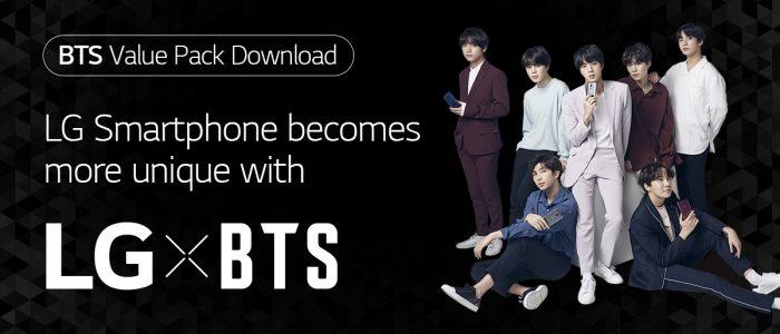 LG BTS Theme