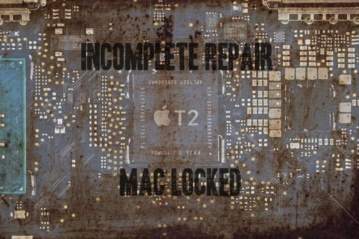 Macbook pro 2018 non riparabili