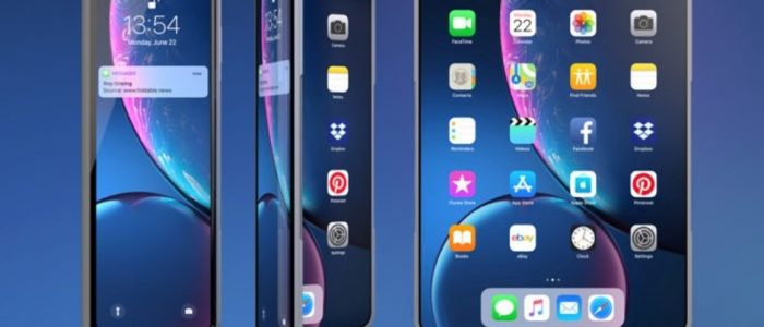 Apple foldable phone