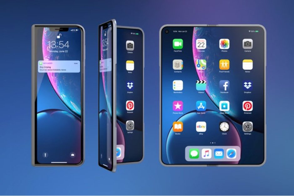 Apple foldable phone
