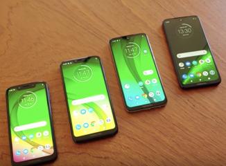 Motorola Moto G7, la gamma