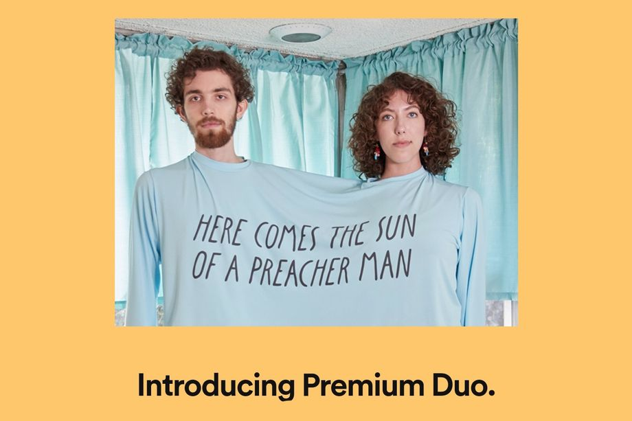 Risultati immagini per introducing spotify premium duo