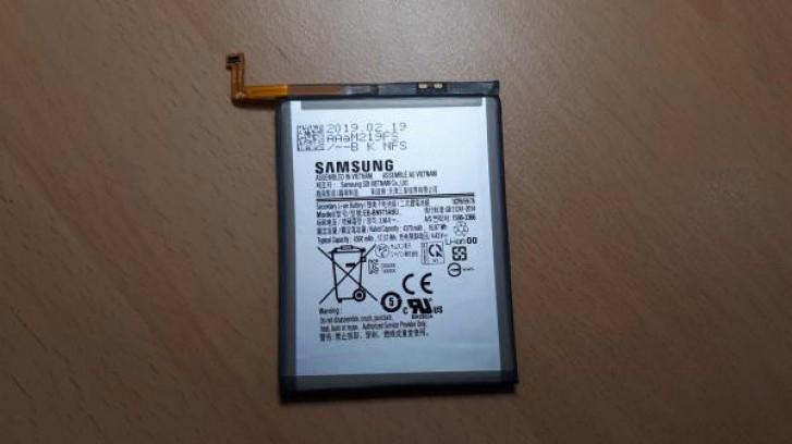 Galaxy Note 10 Pro batteria