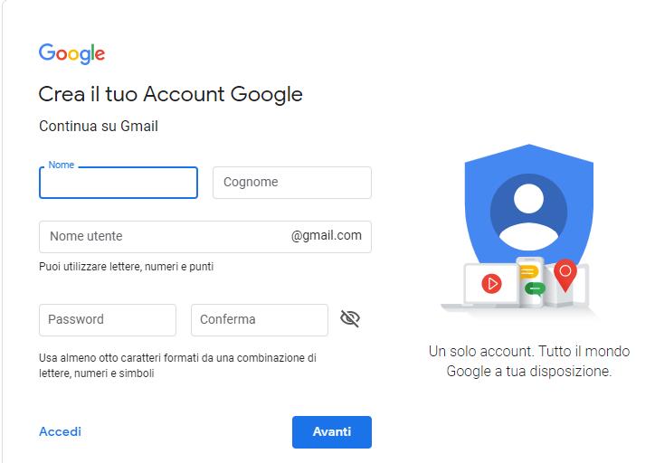 inserimento-nome-cognome-per-creare-un-indirizzo-gmail