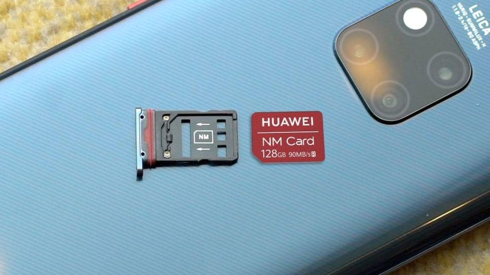 Huawei microsd ban