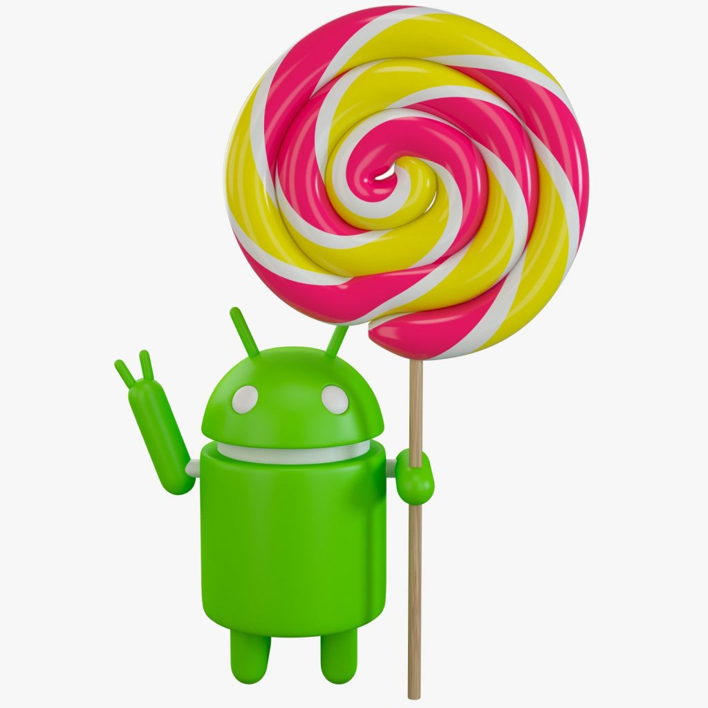 veresione lollipop android