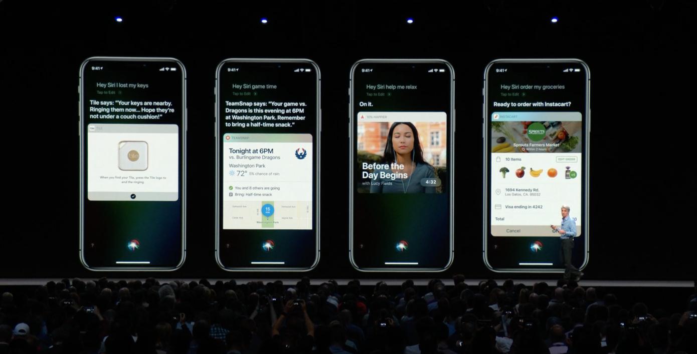 Apple Siri controllo