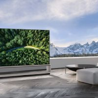 LG TV 8k