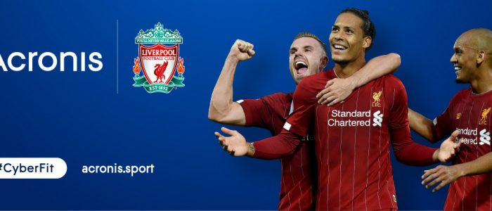 Liverpool e Acronis