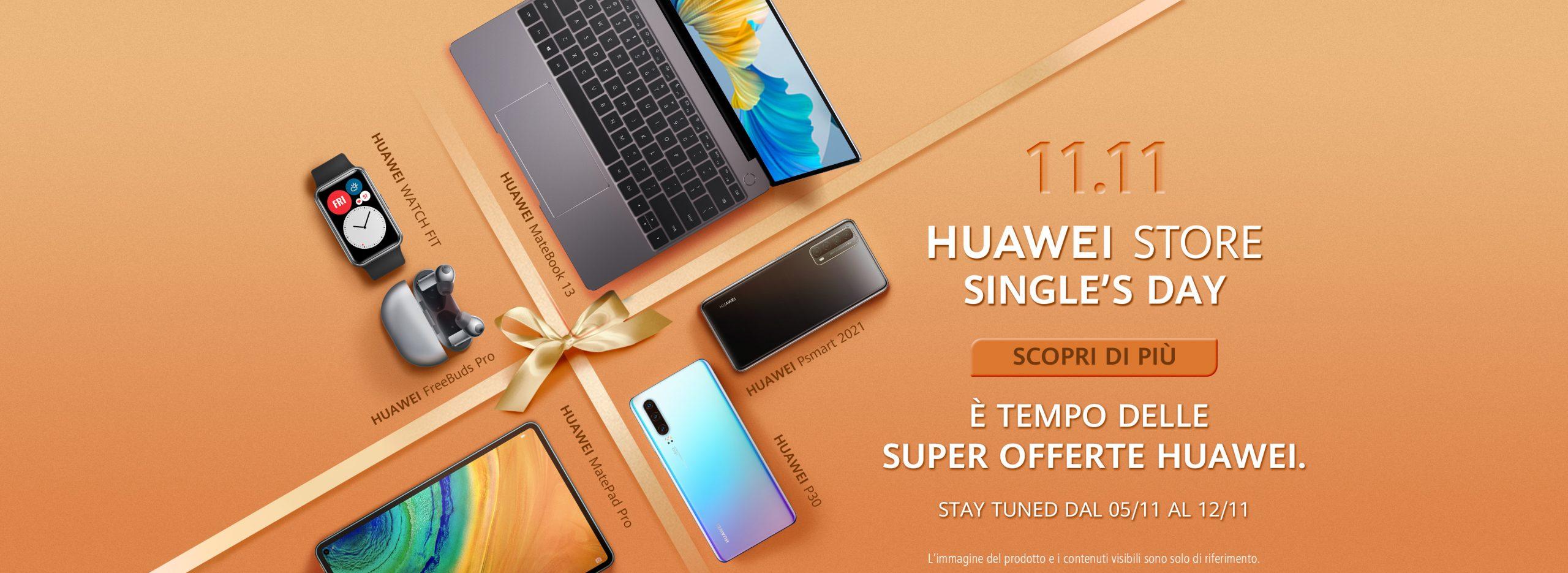 Huawei Singles's Day