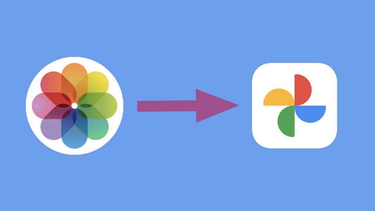 iCloud - Google Foto