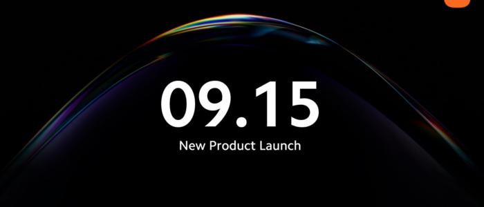 Xiaomi evento 15 settembre