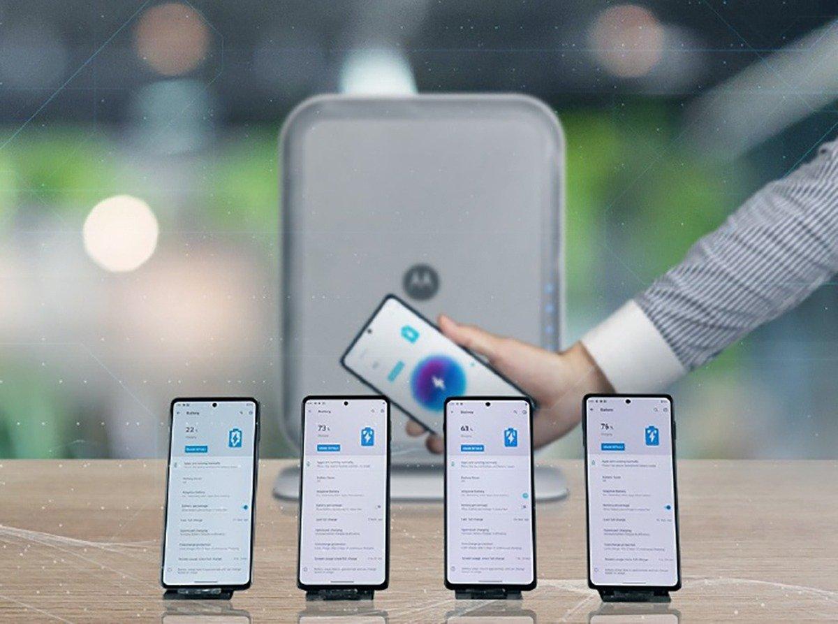 Motorola ricarica wireless lontana